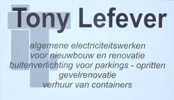 Tony Lefever - Zele