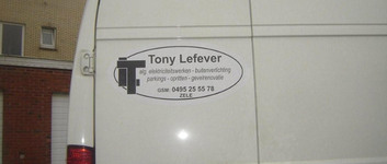 Tony Lefever - Zele - Referenties